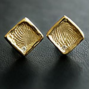 Fingerprint Ohrringe