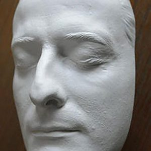 Totenmaske aus Gips